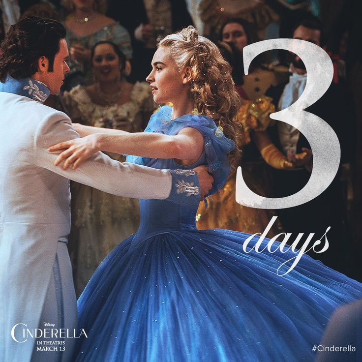 Find out who's waiting for you at the ball in just 3 days…Disney's Cinderella opens MARCH 12 in cinemas and IMAX