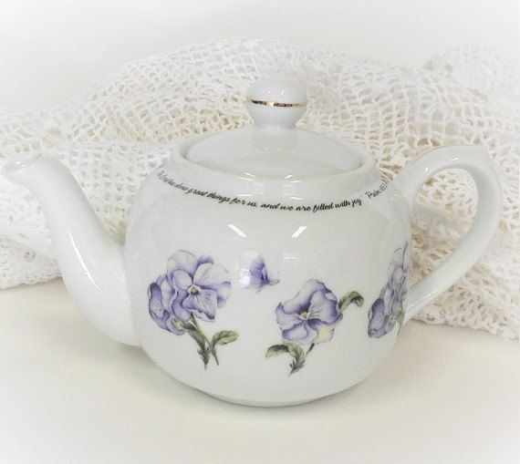 Vintage Teapot home and living kitchen dining teapot