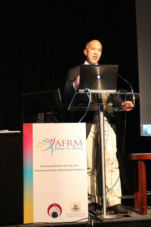 Dr Charlie Teo, a keynote speaker at AFRM 2014