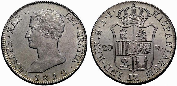 20 reales de Madrid de José Napoleón