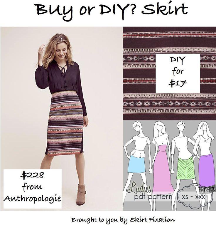 Anthropologie Sweater Skirt DIY for over $200 savings?  Yes!