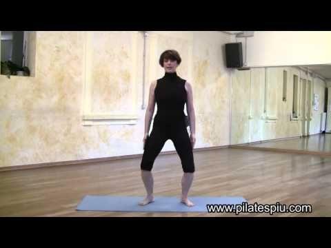 Esercizi per le Gambe: Tonificare - Parte 1 (Standing squat) - YouTube