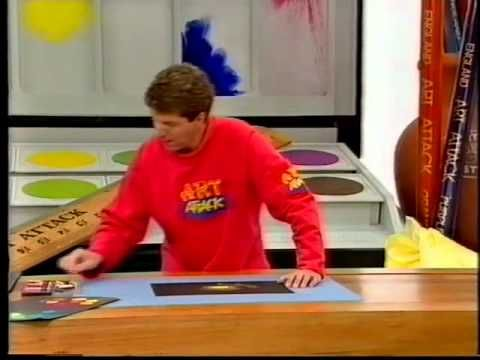 Art Attack clip 6 - Warm and Cold Colours - YouTube