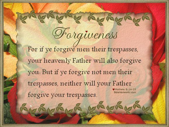 matt 6 14 15 matthew pinterest forgiveness bible