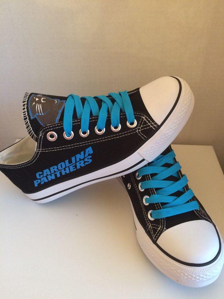 Carolina Panthers Womens Tennis Shoes