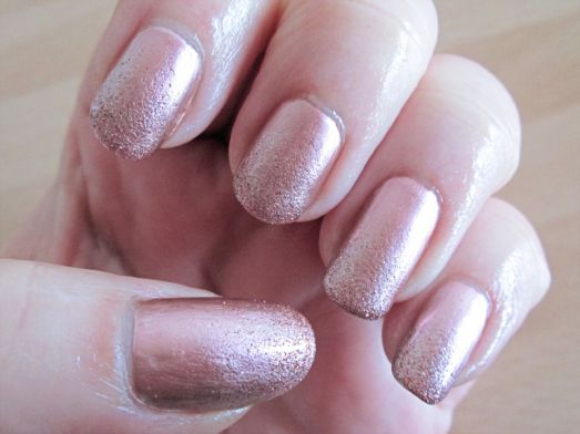 Rose Frost Nails