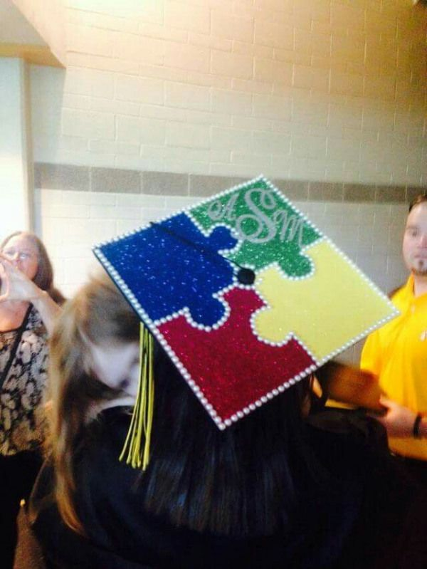 Special ed graduation cap #arteducation #art #education #graduation #cap