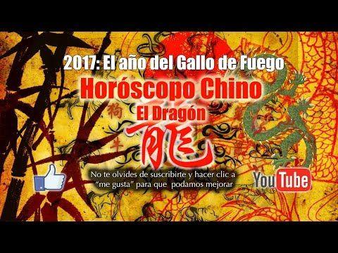 Horóscopo Chino: El Año del Gallito de Fuego - El Dragón