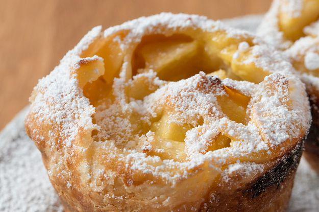 Diese Mini-Apfelstrudel mit Vanille sind perfekt für kalte Herbsttage