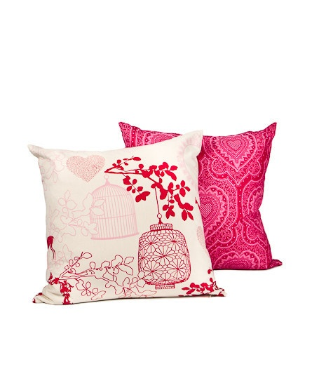 Design Team Fabric. LOVE! cushion - afro heart