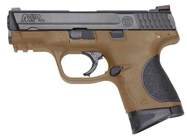 Smith & Wesson M&P 40C Flat Dark Earth 40 S&W Pistol