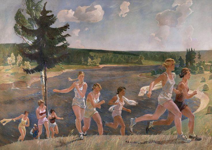 Александр Дейнека. Раздолье. 1944