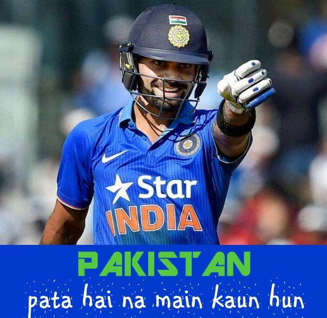 #ViratKohli warning the #Pakistan bowlers ahead of #IndvsPak at #AsiaCupT20 2016
