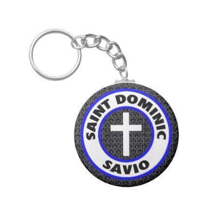Saint Dominic Savio Keychain - accessories accessory gift idea stylish unique custom