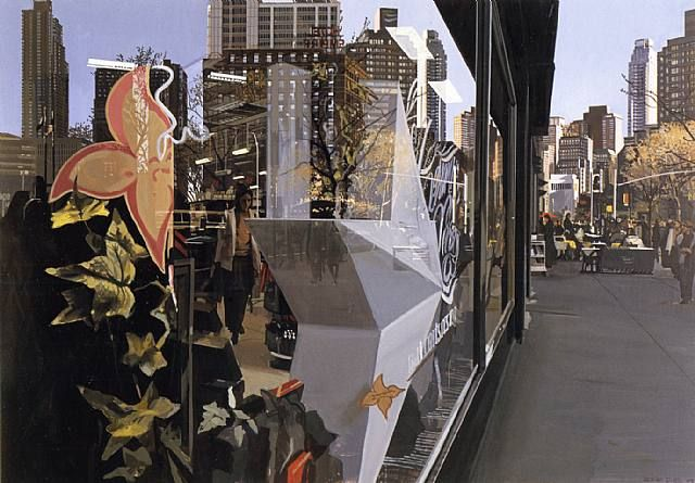 Richard Estes, Broadway Near 63rd Street, 2003