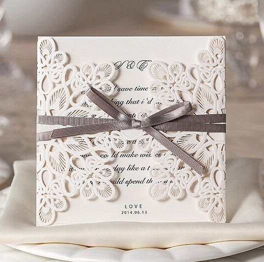 Fabuleux 110 best Wedding Invitation images on Pinterest | Stationery  UI33
