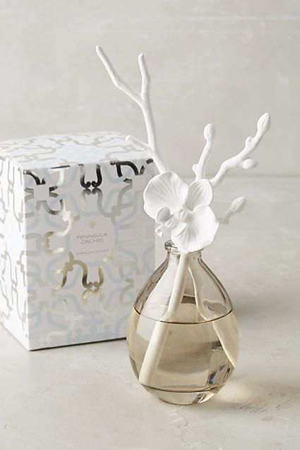 Butterfly Orchid Diffuser. Diffuser: 9''H, 3'' diameter. $55.