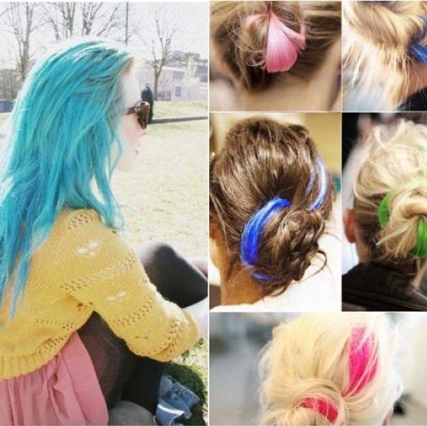 24pcs/Set Fashion Hair Chalks Temporary Colors Hair Chalk Dye Soft Hair Pastels  #Fashion