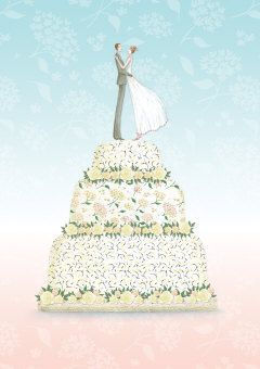 Roger la Borde | Wedding Card by Mary Claire Smith