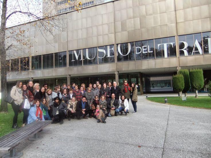 ENTRE TELAS: VIAJE A MADRID  MUSEO DEL TRAJE  Y GIVENCHY .........