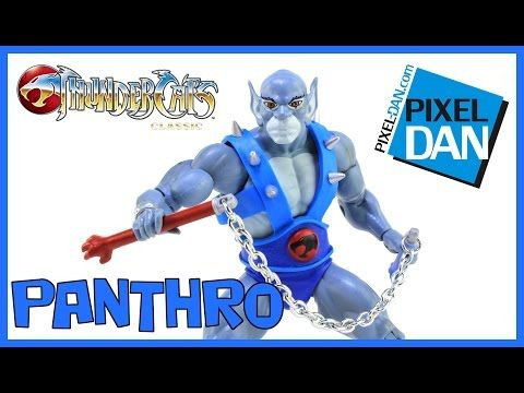 Panthro ThunderCats Classic Mattel Action Figure Video Review - YouTube