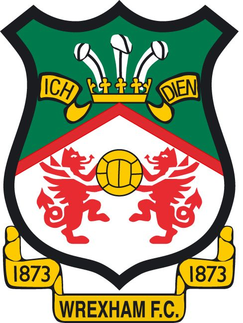 Wrexham Football Club - formerly participating in English League - this logo mentions 1873