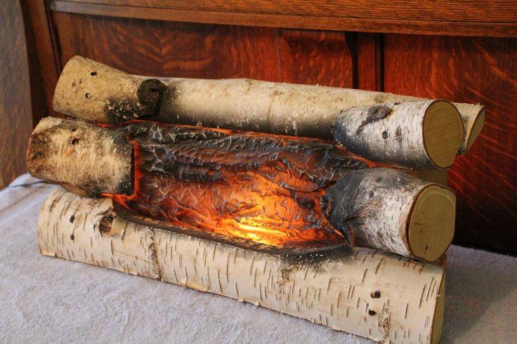 Fake Electric Fireplace Logs