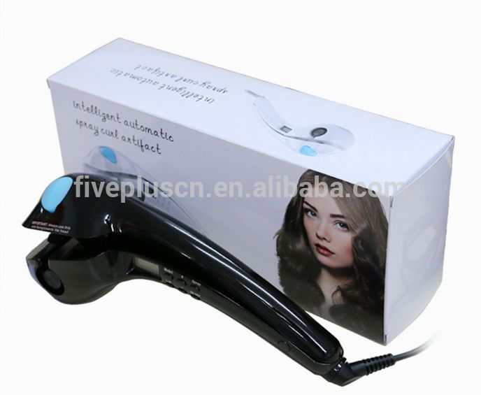 Automatic Electric Hair Curling Iron Curler Steam Spray Ceramic