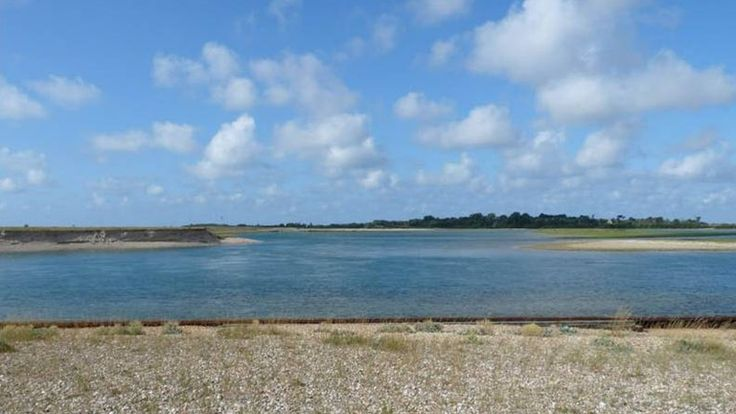 View across Pagham Harbour to Church Norton