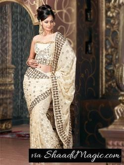 . Keeping in mind, the exclusivity that a woman wishes to present, in each party she attends, sarees in the Indian market are available in an affordable range, yet in an attractive manner, to ensure parties turn out to be the most enjoyed ever.