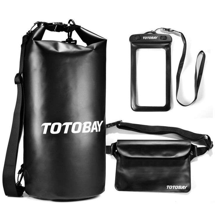 20L Waterproof Dry Bag 3PC Set Roll Top Dry Gear Sack+Waist Pouch+Phone Case New | Sporting Goods, Water Sports, Kayaking, Canoeing & Rafting | eBay!