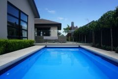 custom made small swimming pool by the team at Mayfair Pools Canterbury http://mayfairpools.co.nz/gallery/small-pools/