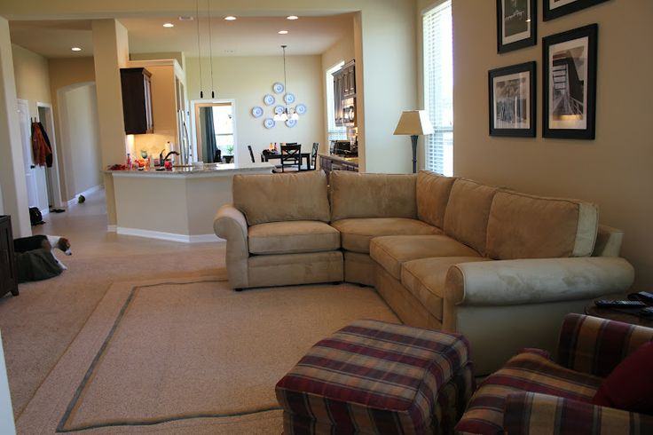 55 best images about living room on pinterest for Sectional sofa placement