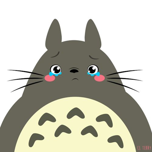 Day 99. Totoro is really going to miss you guys!