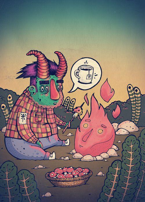 The XGAIAX Inspiration Wall - Monster Tea