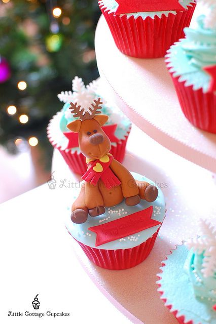 My little Reindeer 1 by Little Cottage Cupcakes, via Flickr