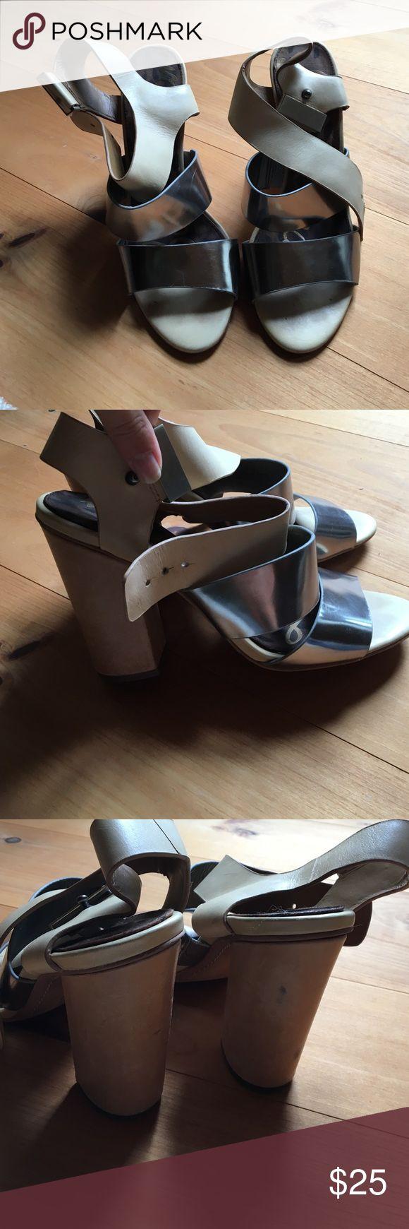 Sam Edelman heels Leather high heel sandals Sam Edelman Shoes Heels