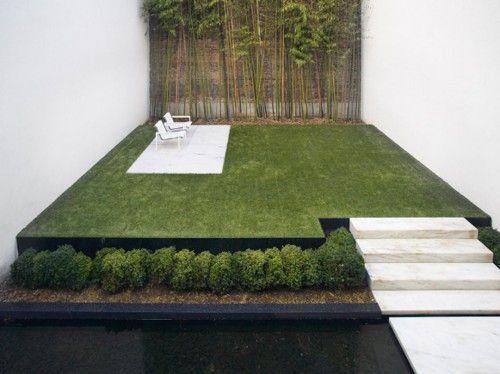manecured garden... city living