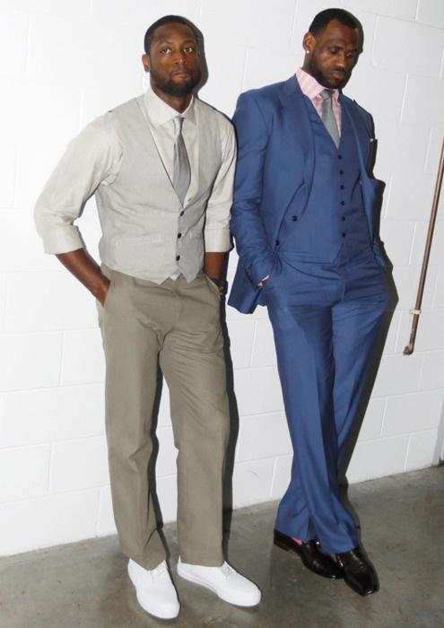 Dwyane and LeBron.