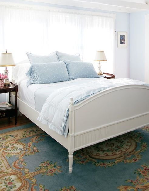 Blue Bedroom Furniture: 72 Best Images About Bed Under Window On Pinterest