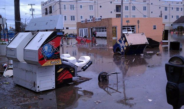 Keansburg | 25 Incredible Pictures Of Hurricane Sandy's Destruction In New Jersey