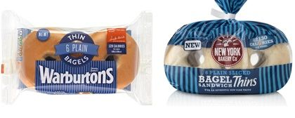 warburtons thin bagels - Google Search