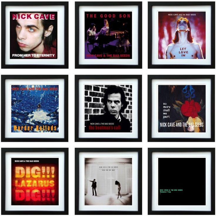 Nick Cave | Framed Album Art Collector Series | ArtRockStore