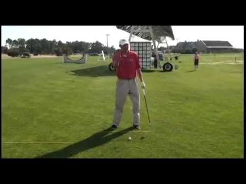 Golf Instruction Zone: One Drill Can Eliminate Chunking AND Topping Shots!