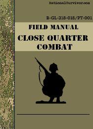 Close Quarter Combat - Free Digital Downloads that every prepper should have.