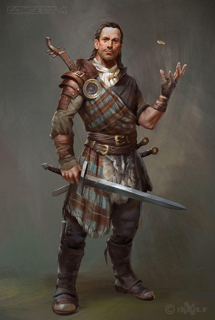 Malaius Ray, o homem que ensinou praticamente tudo que Ardwyr e Amatsu sabem. Ladino 5/Guerreiro 3