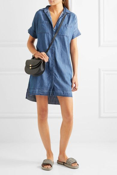 Madewell - Denim Shirt Dress - Blue - x large