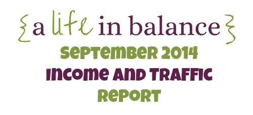 Income and expense report for A Life in Balance,This month I made money!