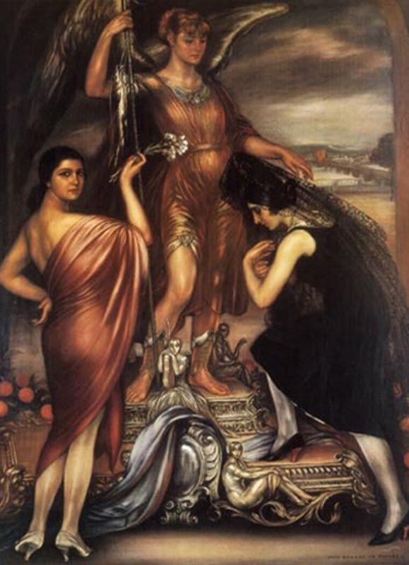 El Simbolismo Profano: Julio Romero de Torres - El Estudio del Pintor www.elestudiodelpintor.com579 × 800Buscar por imagen 8. ARCÁNGEL SAN RAFAFEL (1925)