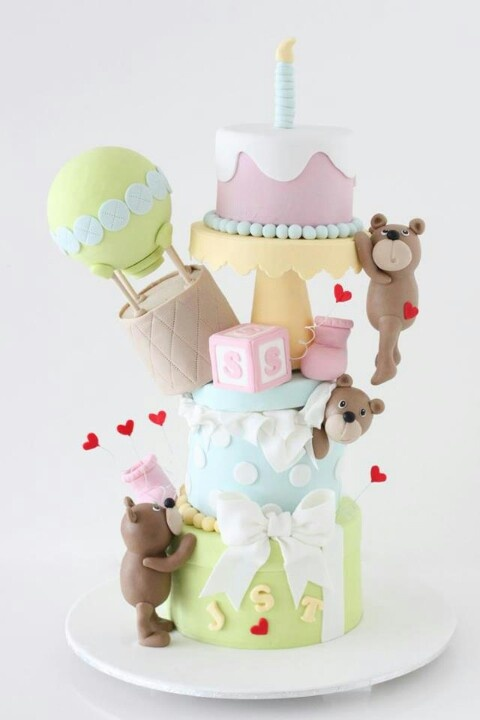 Cake Decorating Classes Gainesville Fl : 1000+ images about Teddy bear cake on Pinterest White ...